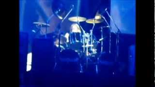 Solo de bateria de Donnie Hamzik en A Coruña