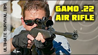 BEST .22 Caliber AIR RIFLE Under $200? - Hunting / Camping / Survival Gun - FUN to SHOOT