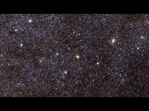 Галактика Андромеда, близнец нашей галактики Млечный Путь