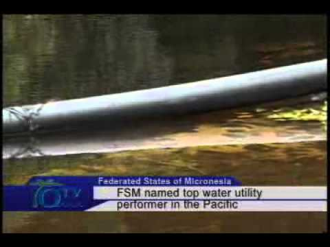 FSM Named Top Water Utility Performer In The Pacific