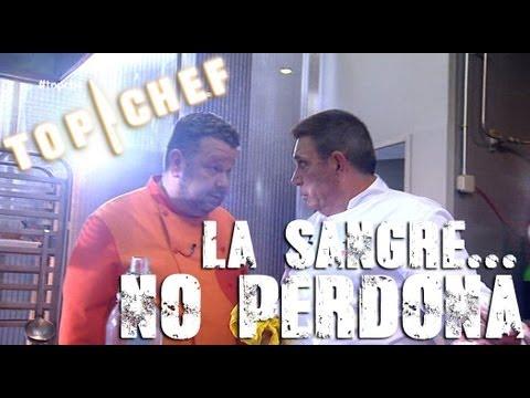 Top Chef - Chicote fulmina a Enrique por su sangriento accidente en la cocina
