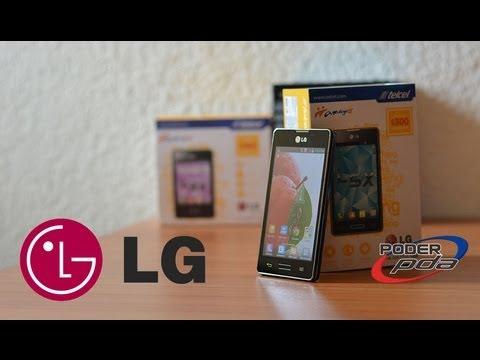 LG Optimus L5x (E450F) con Telcel  - Unboxing en Español HD