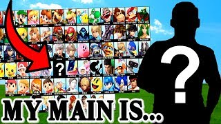 My FIRST EVER Smash Bros Main Is... | Super Smash Bros Ultimate