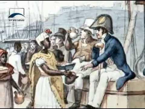 História da Abolição da Escravidão no Brasil.