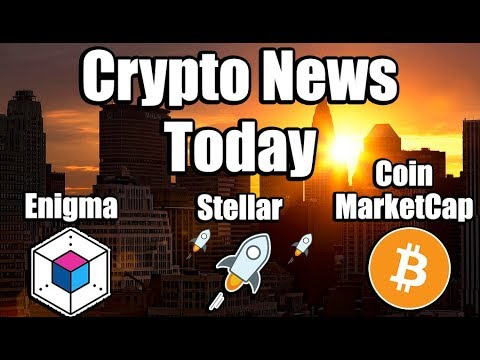 CRYPTO NEWS: Stellar Lumens Ready to Launch, Enigma Partnering with Intel, Congress [Bitcoin News]
