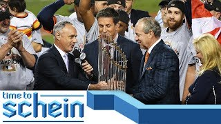 Rob Manfred MUST heavily penalize the Astros | Time Schein