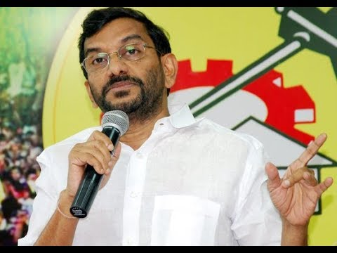 TDP MLC Somireddy Press Meet || LIVE - TV9