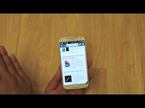 Samsung Galaxy S4: Air Gesture & Air View