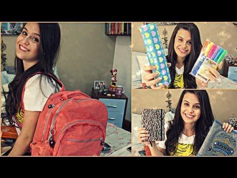 Meu material escolar de 2014 + Dicas escolares + Surpresa!!