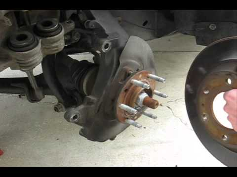 Chevrolet Trailblazer Front End Brake Job YouTube