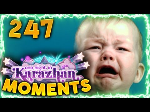 Hearthstone Karazhan Daily Funny and Lucky Moments Ep. 247 | Never Lucky Play!!
