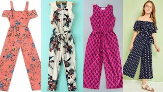 Stylish & beautiful jumpsuits designs for baby girls