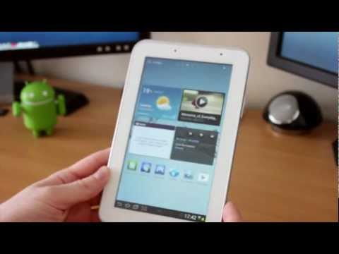 Samsung Galaxy Tab 2 (7.0) Unboxing & First boot