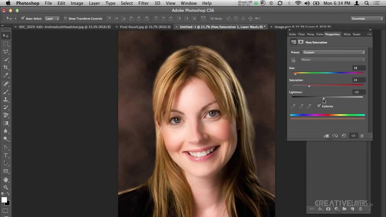 Create A Studio Quality Portrait Background In Photoshop