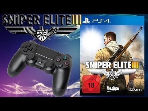 Gameplay Review - Sniper Elite 3 - Multiplayer #03 Kein Übertritt - PS4