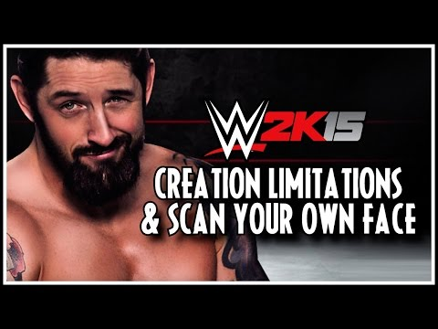 Wwe 2k15 - My Career Creation Limitations & Face Scanning Not In! video