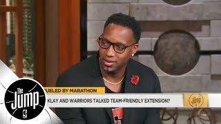 Tracy McGrady: Klay Thompson 'doing the right thing' with team-friendly extension | The Jump | ESPN