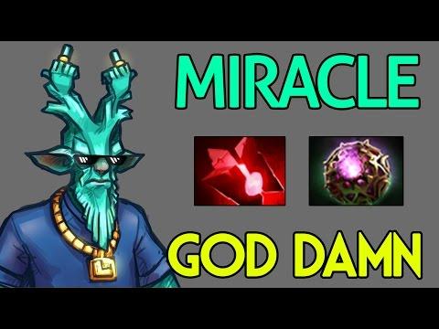 Miracle- Dota 2 : Leshrac - [Middle] Gosh damn it M-