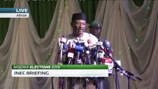 'Why we postponed the Nigerian 2019 elections' - INEC Chairman Mahmood Yakubu