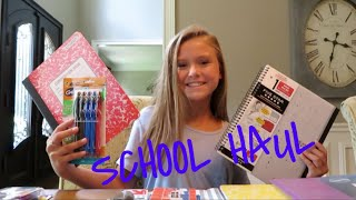 Back to School Shopping Haul🎒||Angelina Drake