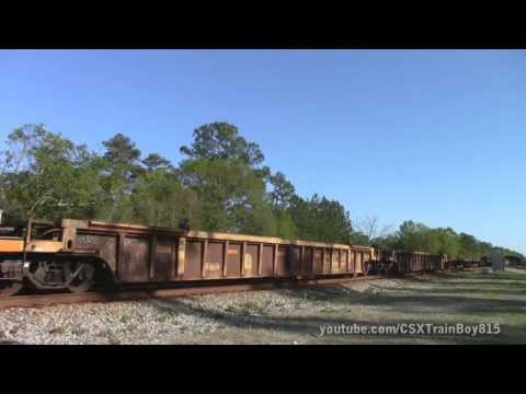 CSX Railfanning At Folkston, GA