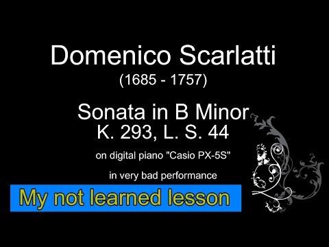 Скарлатти, Доменико - Соната для фортепиано, K 138