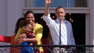 Opening the 2012 White House Easter Egg Roll