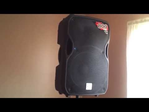 My DJ Setup DENON 3500 CDJ'S & ALTO (ACTIVE) Speakers Demo
