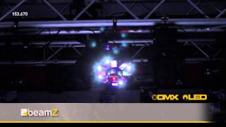 BEAMZ Multi Acis III LEDs with Laser 153.670