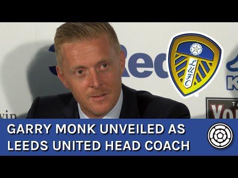 Garry Monk unveiled as LUFC head coach