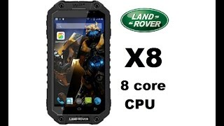 Alps Land Rover X8 GT 8 core rugged Smartphone full review Antutu
