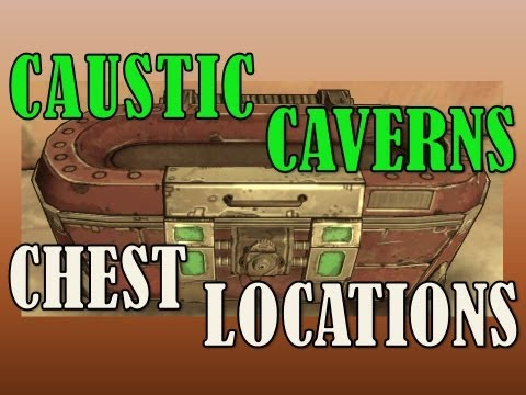 how to get to caustic caverns in borderlands 2