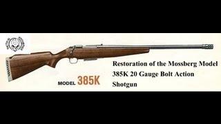 Mossberg model 44 U.S.(a)  100 yard ammo test