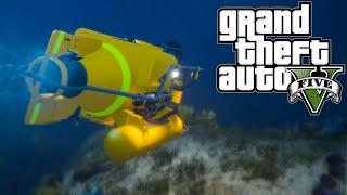 GTA 5 PC Mod | Deep Sea Travel | To The Bottom Of The Map