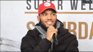 Julian Williams vs Jeison Rosario FULL question & answer segment during their final press conference