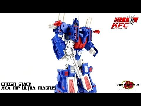 Video Review of the Keith's Fantasy Club: Citizen Stack (aka MP Ultra Magnus)