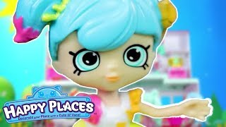 Shopkins | Happy Places The Lil' Shoppies of Happyville - Happy High School | Cartoons for Children