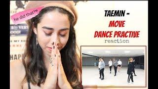 TAEMIN - MOVE Dance practice [reaction]