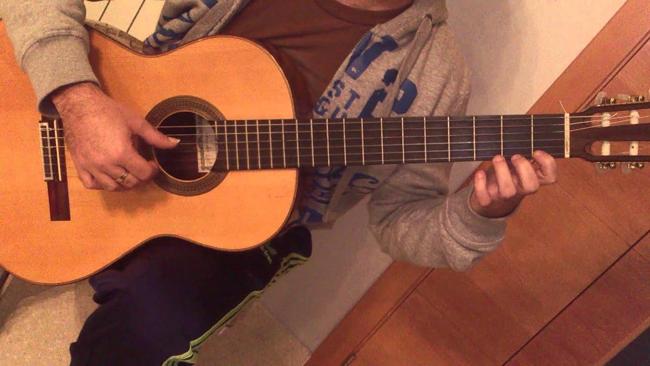 PIRATAS DEL CARIBE. Tutorial de guitarra fácil con ...
