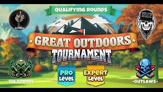 Golf Clash - Great Outdoors - Pro and Expert Qualifying Round