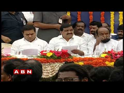 Minister KTR inaugurates Kamineni Junction Flyover | ABN Telugu