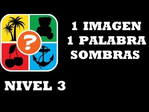 1 IMAGEN 1 PALABRA SOMBRAS nivel 3