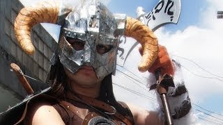 Skyrim Cosplay (old costume) 1.0