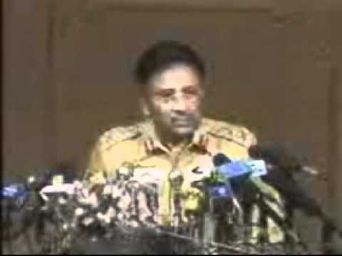 12 OCTOBER PERVEZ MUSHARRAF TAKE OVER