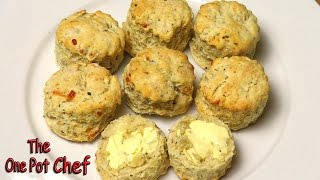 Cheese and Herb Scones | One Pot Chef