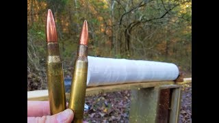 50 BMG - How Many Paper Plates???