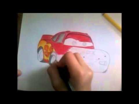 Рисуем карандашом Молнию Магвин