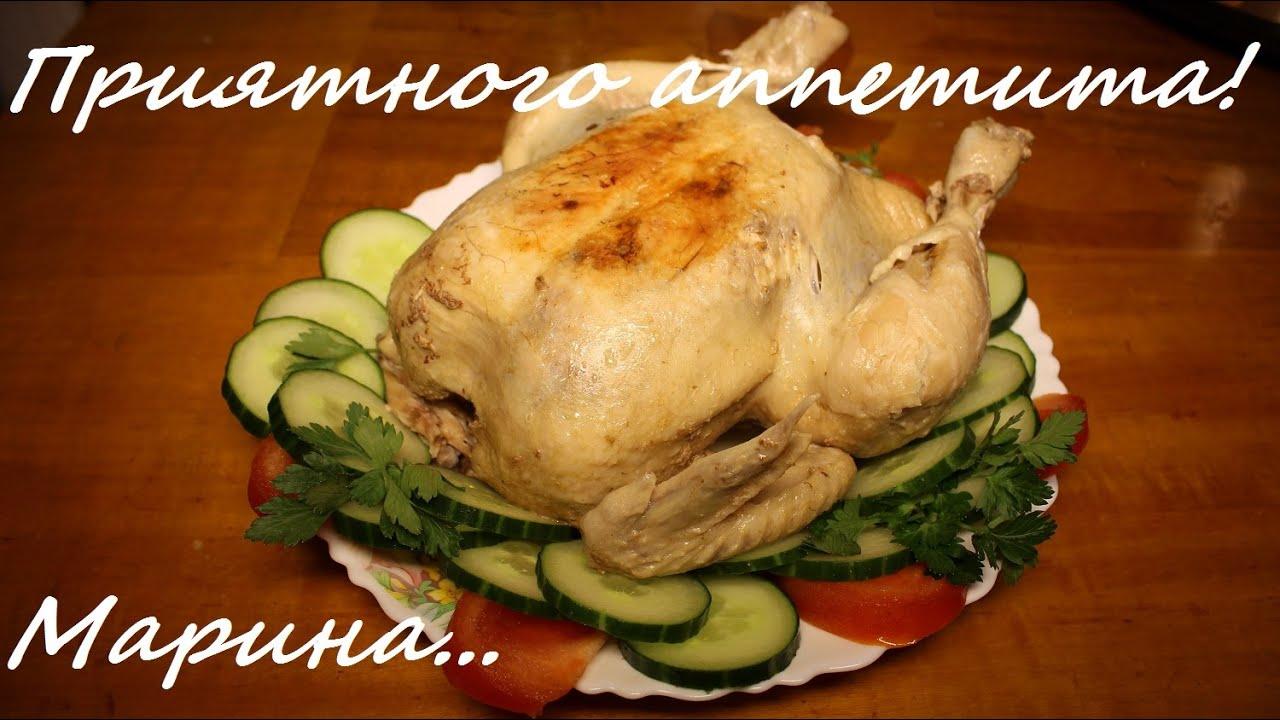 Как сделать запеченную курицу в мультиварке