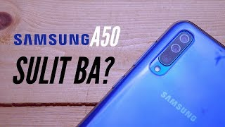 Samsung Galaxy A50 - Full Review - TAGALOG