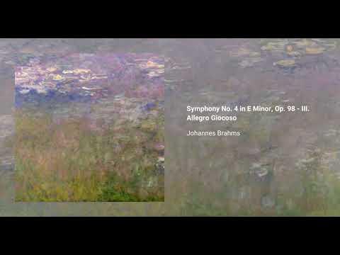 Symphony No. 4 in E Minor, Op. 98 - III. Allegro Giocoso